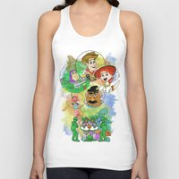 pixar Tank Tops featuring Disney Pixar Play Parade - Toy Story Unit by Joey Noble