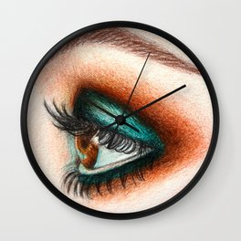 eye II Wall Clock