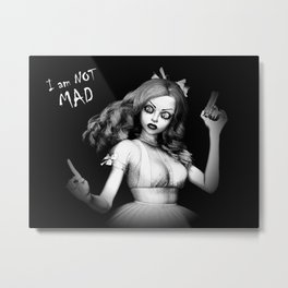 Mad Alice Metal Print
