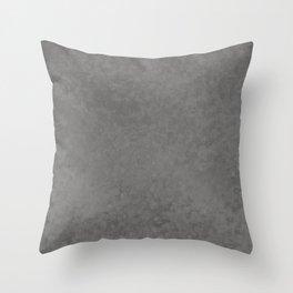 Pantone Pewter, Liquid Hues, Abstract Fluid Art Design Throw Pillow