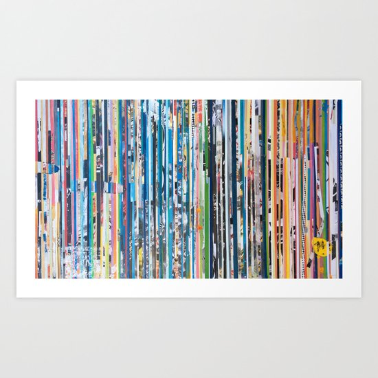 STRIPES 28 Art Print