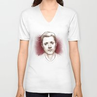 dean winchester V-neck T-shirts featuring Dean Winchester. Hurt by Armellin