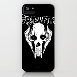 Grievfits (white) iPhone Case