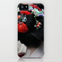 Geisha Maiko Photograph iPhone Case