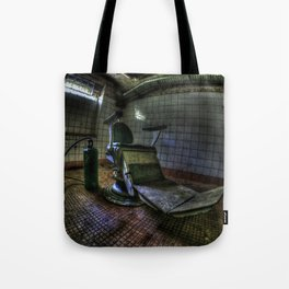 The real seat of horror Tote Bag