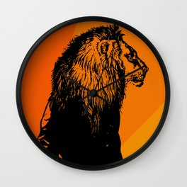 Iron Lion Zion Wall Clock