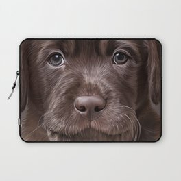 Drawing puppy Labrador Laptop Sleeve
