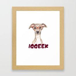 Iggeek 2 Framed Art Print
