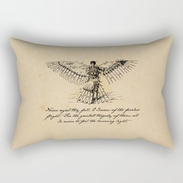 Oscar Wilde - Icarus Rectangular Pillow