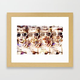 Visit Palm Springs Framed Art Print