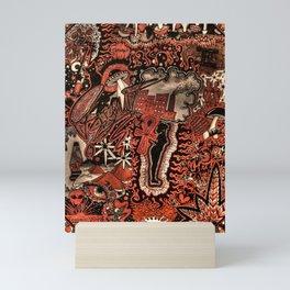 Red Existence Mini Art Print