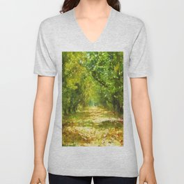Dappled Light of DayDreams Unisex V-Neck