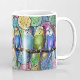 Parakeet Theater Coffee Mug