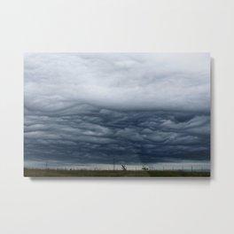 Texas Stormy Horizon Metal Print