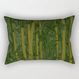 Bamboo jungle Rectangular Pillow