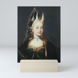 A HORNED WITCH, 18TH CENTURY - ARTIST UNKNOWN Mini Art Print