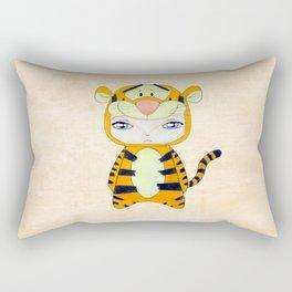 A Boy - Tigger Rectangular Pillow