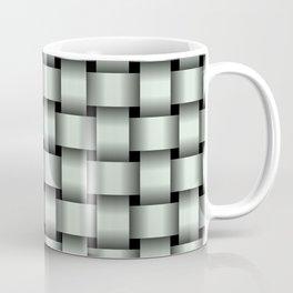 Pastel Green Weave Coffee Mug