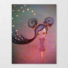 Blue Sky. Canvas Print