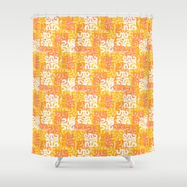 Swanky Mo Citrus Shower Curtain