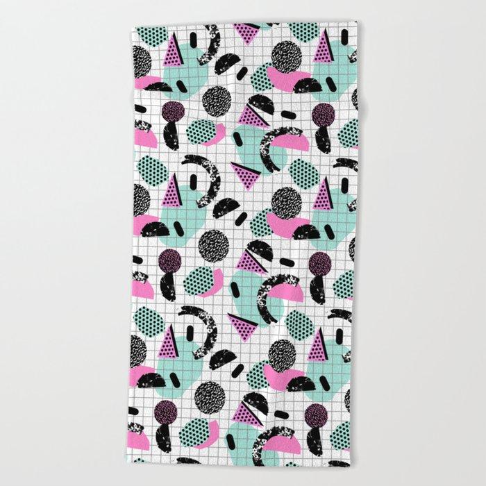Joshin Memphis Throwback Retro Pop Art Geoemetric Pattern Print Unique Trendy Gifts Dorm College Beach