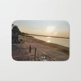 Summer Sunrise on Lake Champlain Bath Mat