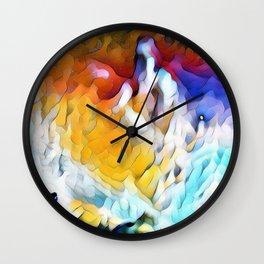 Come My Children Wall Clock