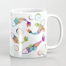Koi - White Stream Coffee Mug