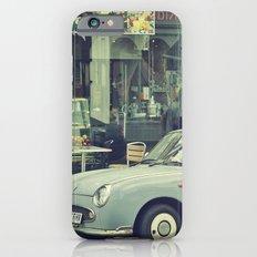 In blue iPhone 6s Slim Case