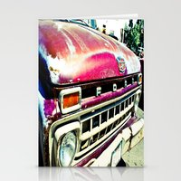 ford Stationery Cards featuring Ford Tough by Kim Ramage