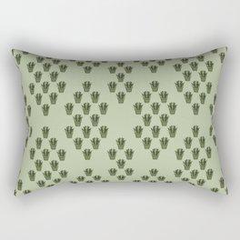 Emerald Thicket Rectangular Pillow