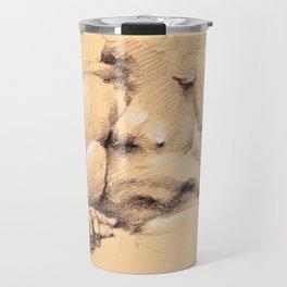 Fontana dei Quattro Fiumi (River God Study) Travel Mug