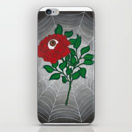 Caught -Eyeball Flower iPhone Skin