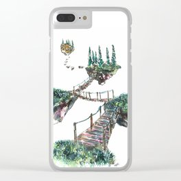 A Place To Breathe Clear iPhone Case