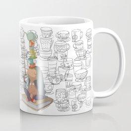 el equilibrio de las tazas Coffee Mug