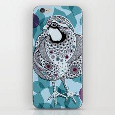Partridge iPhone & iPod Skin