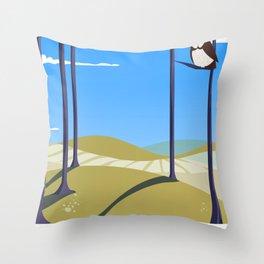 Cumberland England Throw Pillow