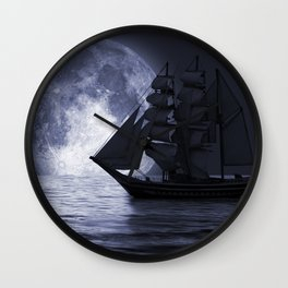 Nightsail Wall Clock
