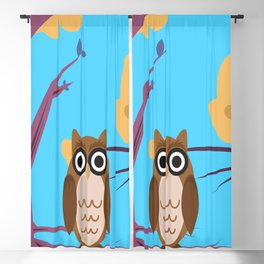 The Wise Owl Blackout Curtain