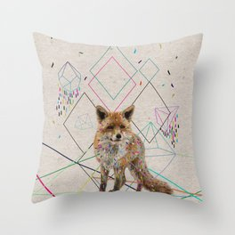 PATHS Throw Pillow