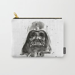 Vader Helmet Watercolor Carry-All Pouch