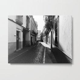 B/W Photography Street Córdoba Spain Metal Print