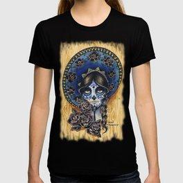 Sombrero Skull Girl T-shirt