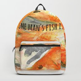 One man's fish is another man's poisson. Backpack
