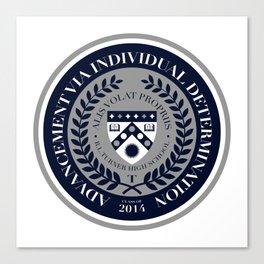 'El Presidente' AVID Official Seal (Senior 2014) Canvas Print