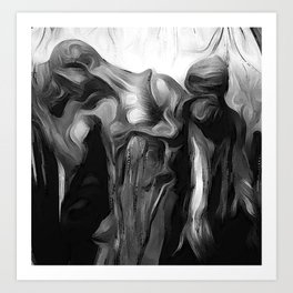 The Burghers of Calais (Detail) Art Print