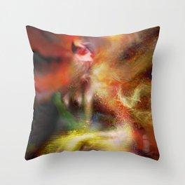 MerWorld Throw Pillow
