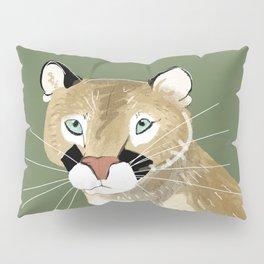 Caturday Puma Pillow Sham