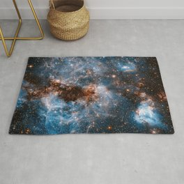 Into The Storm, Galaxy Background, Universe Large Print, Space Wall Art Decor, Deep Space Poster Rug