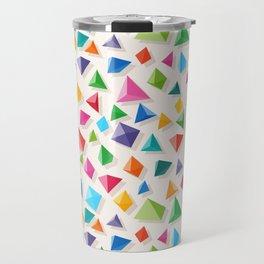 Paper Pyramid Travel Mug
